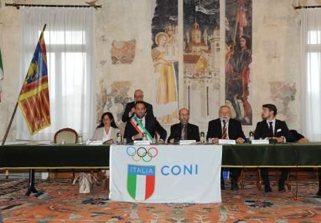 Consegna Benemerenze Sportive Provincia di Treviso